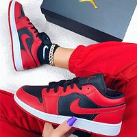NIKE Air Jordan 1 Low AJ1  Low top basketball shoes