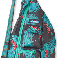 Monogrammed Kavu Rope Bags - Sangria - Great gift for College, Teens, Women, Outdoors Satchel Crossbody Tote, Rope Sling