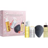 Korean Skincare Made Simple Double Cleanse & Boost Set