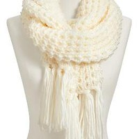 Women's Waffle-Knit Sweater Scarves   Old Navy