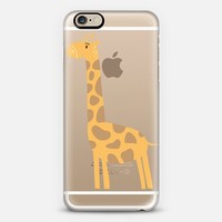 Giraffe iPhone 6 case by Petit Griffin | Casetify