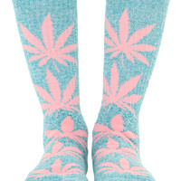 PINK PLANTLIFE SOCKS