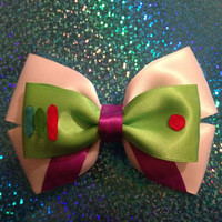 Buzz Lightyear inspired bow from Disneys Toy Story