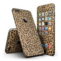 Custom Leopard Animal Print - 4-Piece Skin Kit for the iPhone 7 or 7 Plus