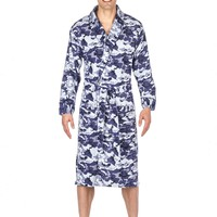 Noble Mount Mens Microfleece Robe