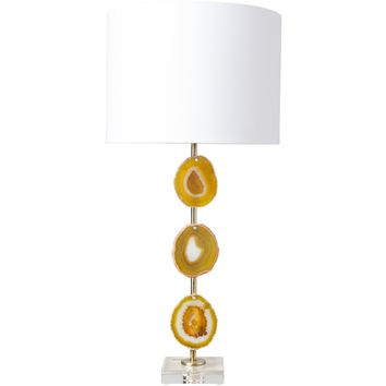 Esker Agate Table Lamp CANARY