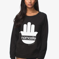 Namaste Stripe Muse Sweatshirt