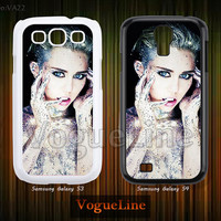 Miley cyrus Samsung Galaxy S4 case, Galaxy S3 case, Phone Cases Phone Covers, Skins, Case for Samsung VA22