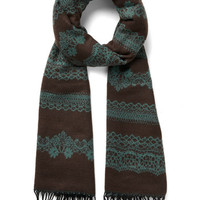 ModCloth Rake the Best of It Scarf in Cocoa
