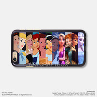 Princess Face iPhone Case Black Hard case 790