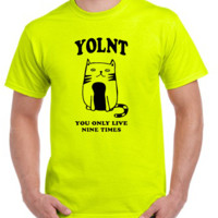 You only live nine times T-shirt