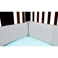 Baby Cribs  - Cocoa Mint Crib Bumpers