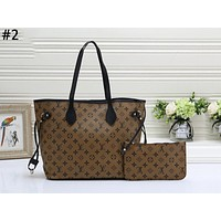 LV 2019 new classic old flower shopping bag handbag shoulder bag two-piece #2