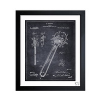 Wrench Patent Wall Art