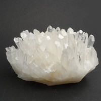 Natural Quartz Crystal Cluster,  White Druzy Crystal For Mineral Collection - Healing - Meditation - Reiki