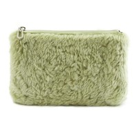 FUR BEAUTY BAG