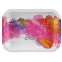 OCB Metal Rolling Tray - Holi White (Large)