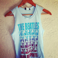 Studded The Beatles crop top