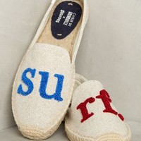Soludos Surf Espadrilles in Neutral Size: