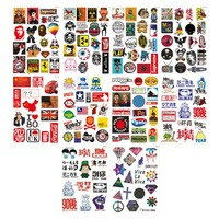 [Fashion Cool] Waterproof Bicycle/ Luggage/ Motocycle/ Helmets Stickers, 10 Sets