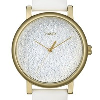 Women's Timex 'Crystal Sky' Pave Dial Watch, 38mm