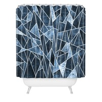 Elisabeth Fredriksson Shattered Sky Shower Curtain