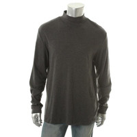 John Ashford Mens   Cotton Knit Turtleneck Shirt