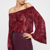 Free People We The Free Ginger Berry Top