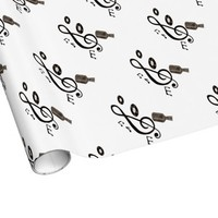 Music Lover Gift Wrapping Paper