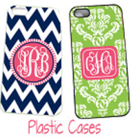 Monogrammed Cell Phone Case | iPhone 5/5S | Custom |Marley Lilly