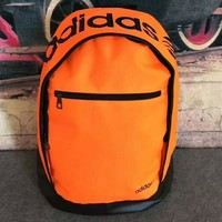 Adidas Women Leisure sports backpack Outdoor travel bag orange H-PSXY