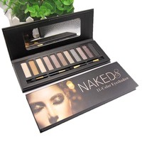 Naked 8 11 Colors Fashion Box Brown Eye Shadow [10968518156]