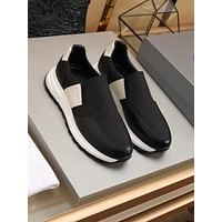 prada men fashion boots fashionable casual leather breathable sneakers running shoes 130