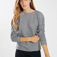 Mint Moto Pullover Sweatshirt - Urban Outfitters