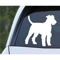 Airedale Terrier Dog (02) Die Cut Vinyl Decal Sticker