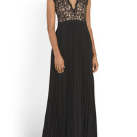 Made In Usa Lace V Neck Gown - Formal - T.J.Maxx