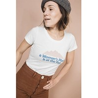 A Woman's Place Is On Top Tee