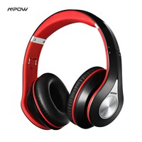Mpow best On-Ear Wireless Headphones Bluetooth 4.0 Headphone Built-in Mic Soft Earmuffs Noise Cancelling Stereo Sound Headset