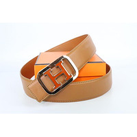 Hermes belt men's and women's casual casual style H letter fashion belt30