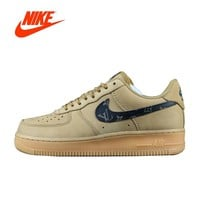 Original New Arrival Authentic Nike Air Force 1 Lv8 LTR Low AF1 Men's Breathable Skateboarding Shoes Sports Sneakers 888853-208