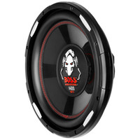 """Boss Phantom 12"""" Los Profile Subwoofer, 1400W Poly Injection Cone, 40hm Voice Coil"""