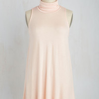 Ease to Meet You Tunic in Peach | Mod Retro Vintage Short Sleeve Shirts | ModCloth.com