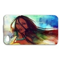 Super Cute Pocahontas Disney Phone Case iPhone Cool Cover Painting Beautiful Fun