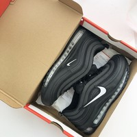 shosouvenir Nike  Air Max 97 Great hook classic retro jogging silvery shoes
