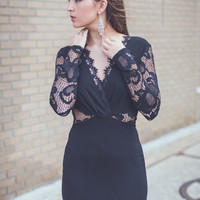 WEB EXCLUSIVE: Make Way Dress in Black