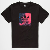 Adidas Cosmic Blackbird Boys T-Shirt Black  In Sizes