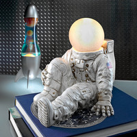 """""""Astronaut At Ease"""" Lighted Sculpture"""