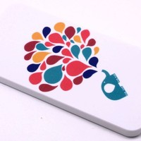 Color Elephant Blow Balloon Hard Back Shield Case Cover for Apple Iphone 5