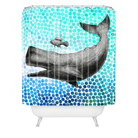Garima Dhawan New Friends 3 Shower Curtain