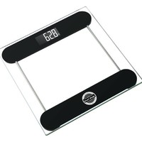 """Smart Weigh Precision Digital Vanity / Bathroom Scale, """"Smart Step-On"""" Technology, Tempered Glass Platform and Large Backlight Display"""